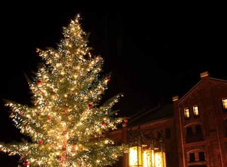 横浜赤レンガのクリスマス1