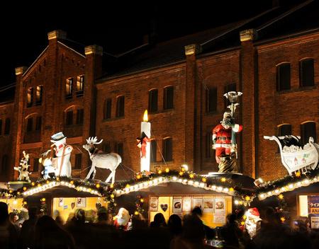 横浜赤レンガのクリスマス3